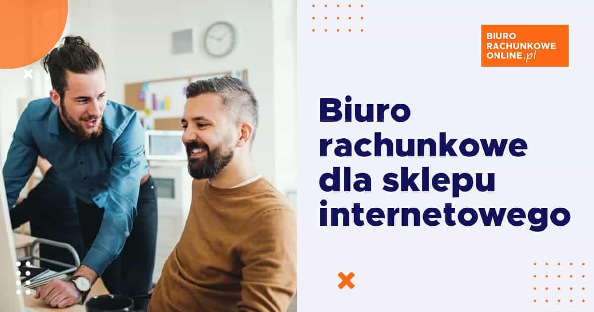 biuro rachunkowe online dla sklepu internetowego